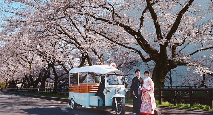 氷川神社と小江戸川越街並みロケーションフォトプラン